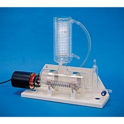Water Still Distillation With Metal Heater