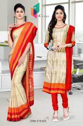 Uniform Saree Salwar Combo For Teachers