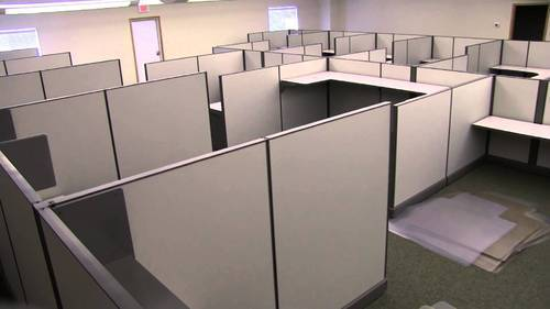 Office partition dividers Modern Office Office Divider Indiamart Office Divider At Rs 350 square Feet ऑफस परटशन
