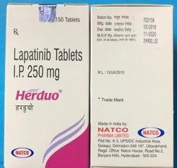 Herduo 250 Mg Tablets Lapatinib