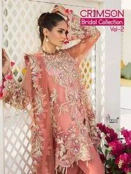 Beautiful Casual Wear Pakistani Suit Crimson Bridal Collection Vol-2