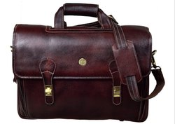 Hammonds Flycatcher Original Bombay Brown Leather Office Messenger Bag
