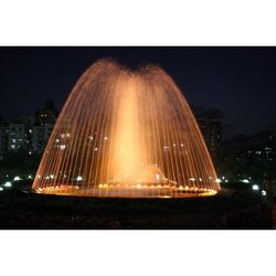 LED Water Jet Fountain
