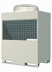 Reversible air source heat pump