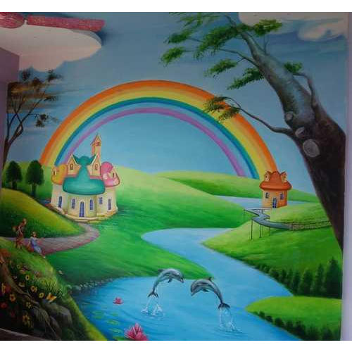 3D Bedroom Wall Paint, Interior And Exterior Painting ...