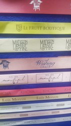 Custom Ribbon Printing