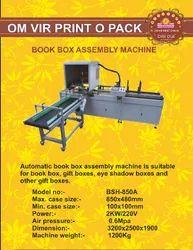 BOOK BOX ASSEMBLY MACHINE