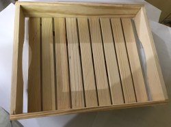 Pine Wood Tray 8x10