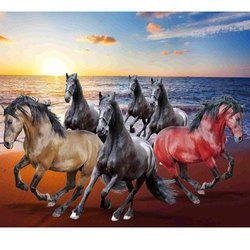3d Room Horse Wallpaper At Rs 120 Square Feet 3d Wallpaper Id