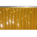 PVC Strip Curtain Roll Amber Yellow Anti Insect