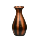 Copper Black Plain Vase