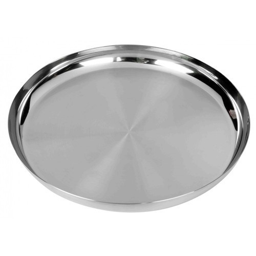 Stainless Steel Dinner Plate  sc 1 st  IndiaMART & Stainless Steel Dinner Plate at Rs 200 /kilogram | Stainless Steel ...