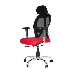 Black And Red Ergonomic Office Chair