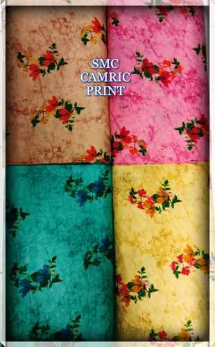 Cotton Fabric - Cambric Cotton Fabric Manufacturer from Surat
