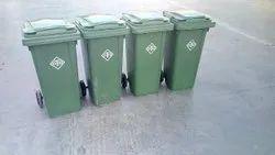 Plastic Wheeled Bins, Size: 120 Liter