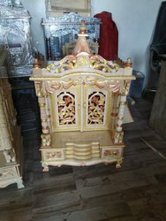 Golden Wooden Sevan Wood Folding Temple