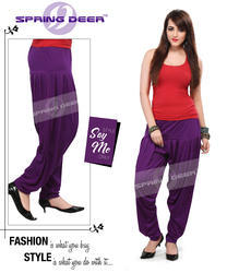 Purple Patiala Pant