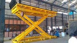 Ragnor Hydraulics Mild Steel Vehicle Lifts, Working Height: 10 feet
