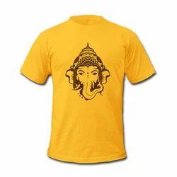 Cotton Printed Men's Stylish T Shirt
