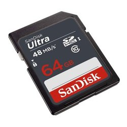 Sandisk Ultra 64GB Class 10 Memory Card
