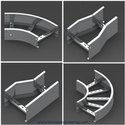 Ladder type cable trays accessories