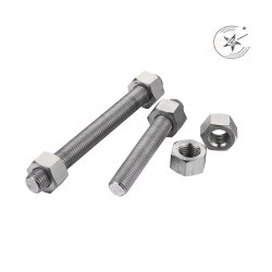 Titanium Gr 5  Nut Bolt Stud