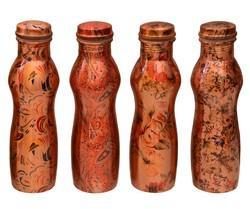Leak Proof Copper Printed Bottles