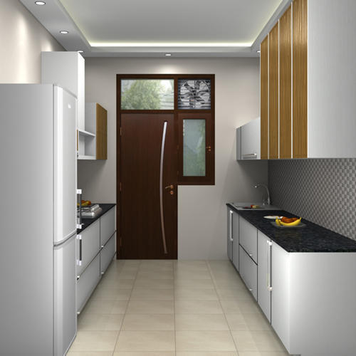 Interior Design In India Hyderabad: Acrylic Modular Kitchen At Rs 850000 /unit
