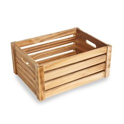 Rectangular 50 Kg Pinewood Shipping Crate, For Storage