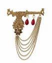 Designer Premium Meena & Stone Brooches