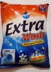 EXTRA WASH White & Pink DETERGENT POWDER, For Laundry, Packaging Size: 500 Gram, 1 Kg & 3 Kg