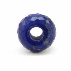 Blue Tyre Shape Lapis Bead