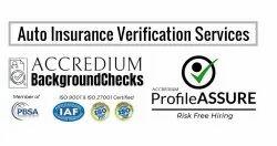 Auto Insurance Verification Services