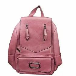 Girls Pink College  Backpack