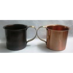 Copper Moscow Mule Matte Style Mugs