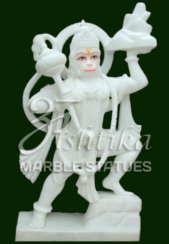 Viyatnam Marble Hanuman Statue