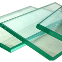 Transparent 10-50mm Diameter Toughened Glass, Shape: Flat