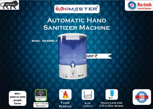 Automatic Hand Sanitizer Machine 8 Ltr