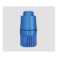 PVC Blue Heavy Spring Foot Valve, Size: 15 Mm, Packaging Type: Box