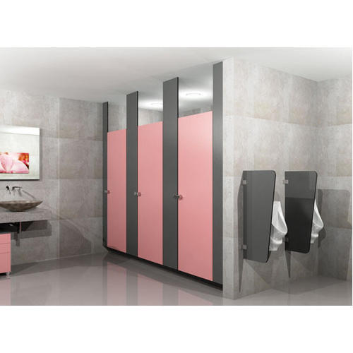 Ceiling hung toilet partition at rs 28000 unit - How to install bathroom partitions ...