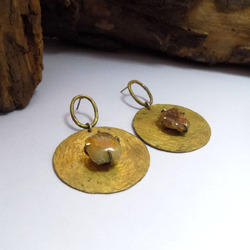Plain earring