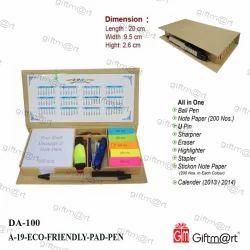 Giftmart Eco Friendly Stationary Gift Set
