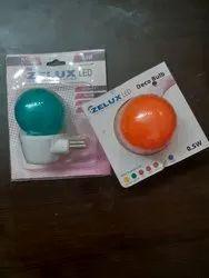 Colored LED Bulb