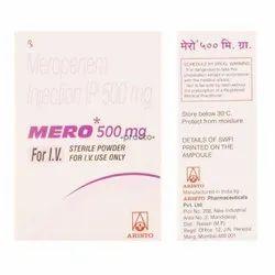 Mero 500 mg Injection