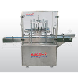 Automatic Belt Type Cap Pressing Machine