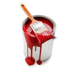 Red Latex Emulsion Paints