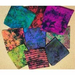 Multi Color Printed Silk Scarf
