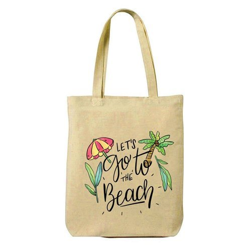 Hamee Customized Canvas Shopping Tote Bag - Beach Time at Rs 150 ... 177de779d685