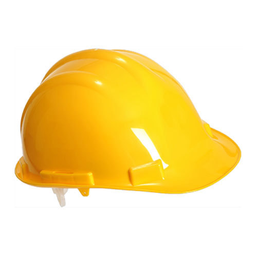 HDPE Yellow Safety Helmet
