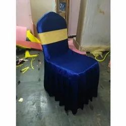 Blue SS Banquet Chair